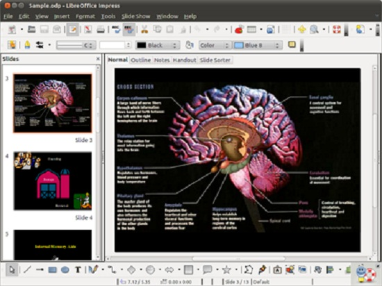 Impress para crear presentaciones
