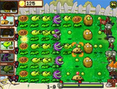 Plants Vs Zombies para Symbian