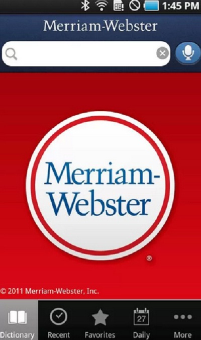 Merriam webster para Android