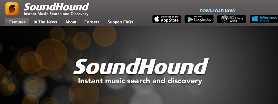 SoundHound averiguar como se llama una canción
