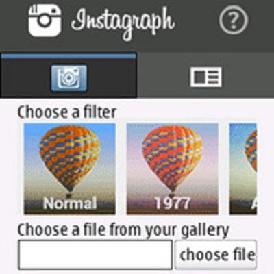 subir fotos a instagram desde Nokia Asha