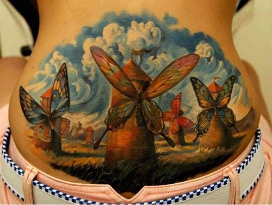 tatuajes realistas 3