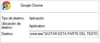 eliminar v9 de google chrome