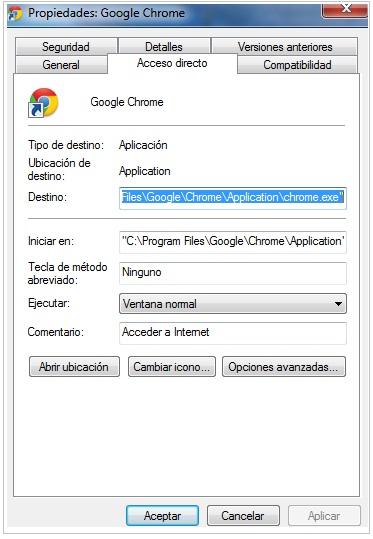 sacar v9 de google chrome