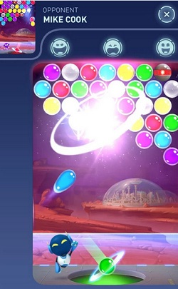 Mars Pop para Android bubble shooter