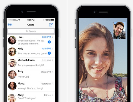Soma Messenger para Iphone, app de mensajería
