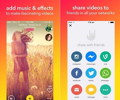 musical.ly para iphone en descarga