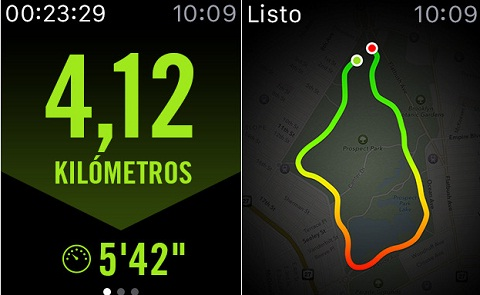 salir a correr con el apple watch nike