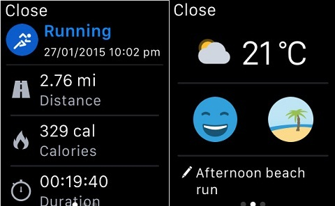 salir a correr con el apple watch runtastic