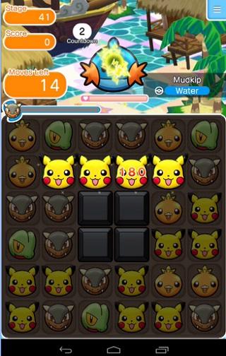 Pokémon Shuffle Mobile para Android