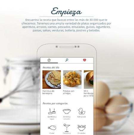 recetas de cocina para android