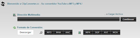 convertidor youtube a mp4