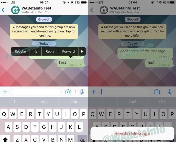 como borrar mensajes enviados de whatsapp