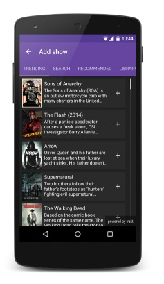 seriesguide para android