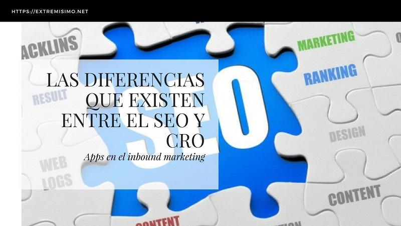 Diferencias entre SEO y CRO