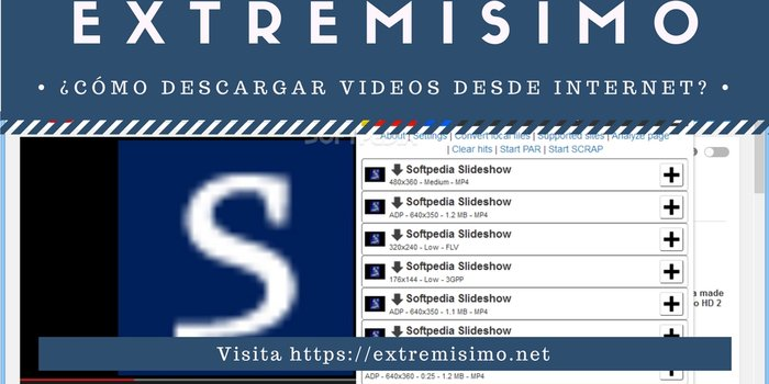 descargar videos de internet