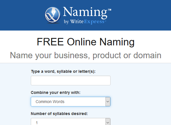 generador de nombres para empresas