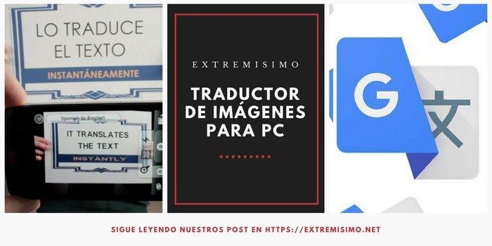 Traductor de imágenes para PC