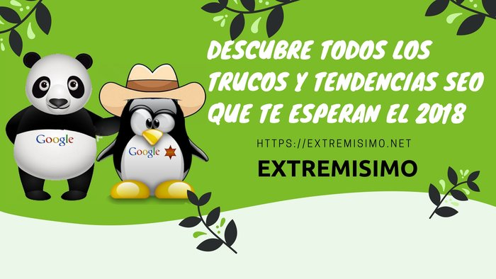 Tendencias SEO 2018