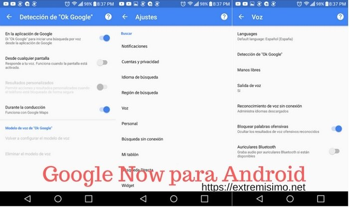 Google Now para Android