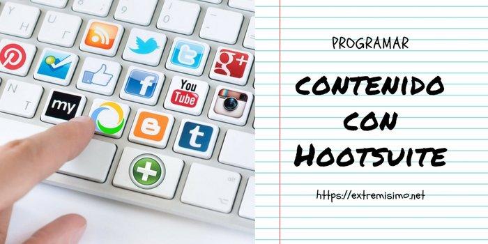 Programar contenido con Hootsuite