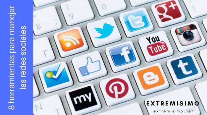 Herramientas para usar redes sociales