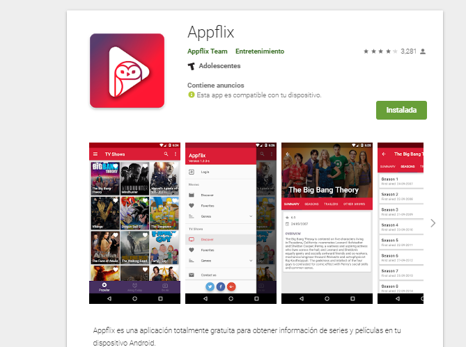 Descargar AppFlix APK para Android