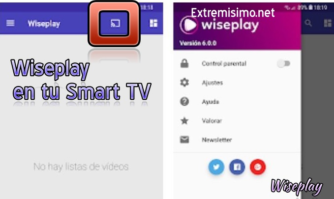 Wiseplay smart tv
