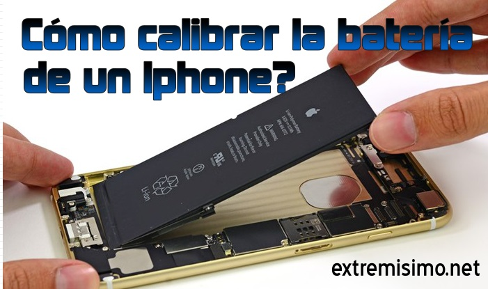 calibrar bateria iphone