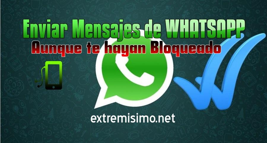 enviar whatsapp aunque este bloqueado