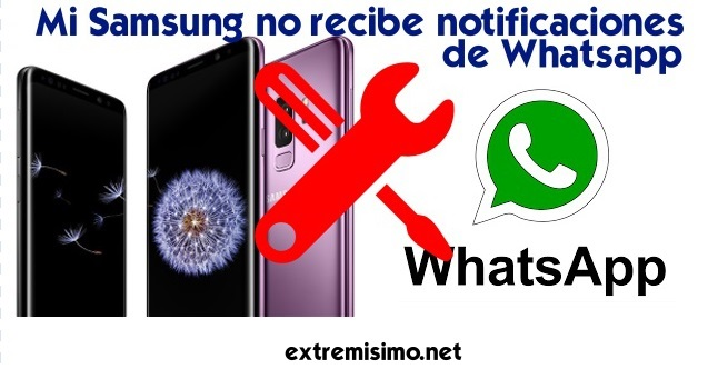 notificaciones whatsapp samsung