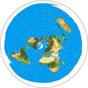Teoría de la Tierra Plana (Equivocada)