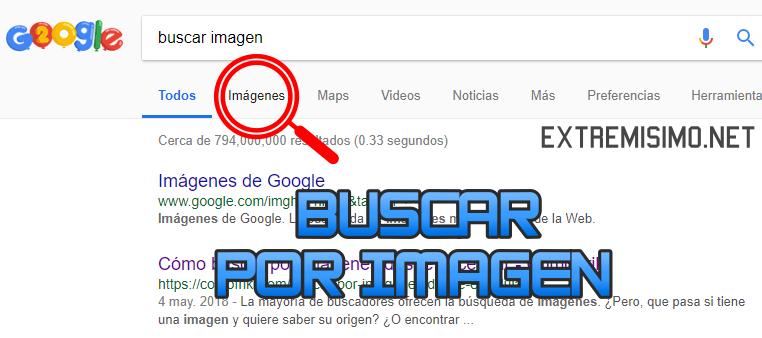 buscar por imagenes google