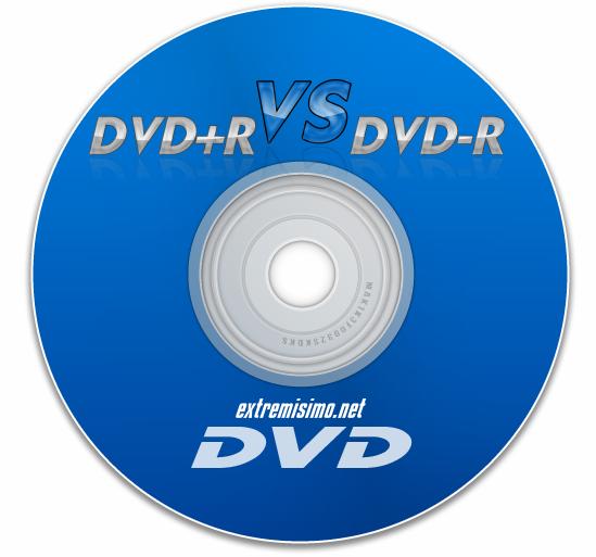 dvd+r y dvd-r