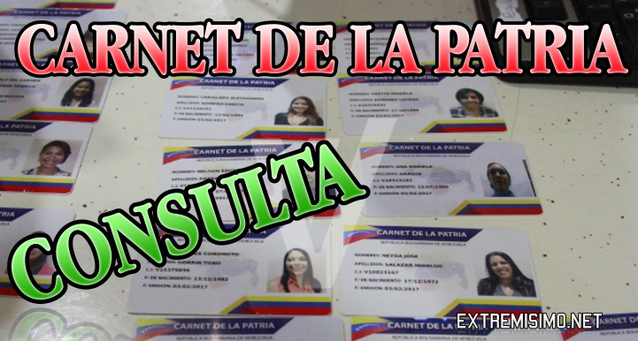 carnet de la patria consulta