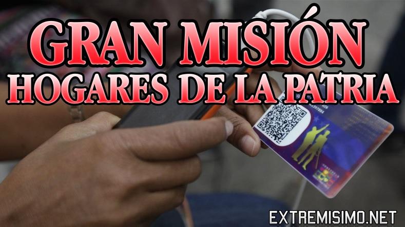 gran mision hogares de la patria