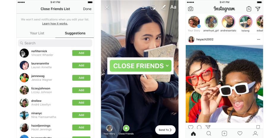 Cómo utilizar Close Friends en Instagram