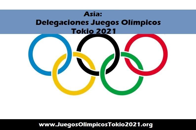 Asia Juegos Olímpicos 2021