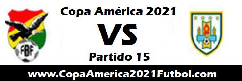 Bolivia vs Uruguay EN VIVO