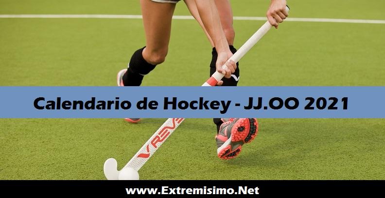Calendario de Hockey Juegos Olímpicos Tokio 2021