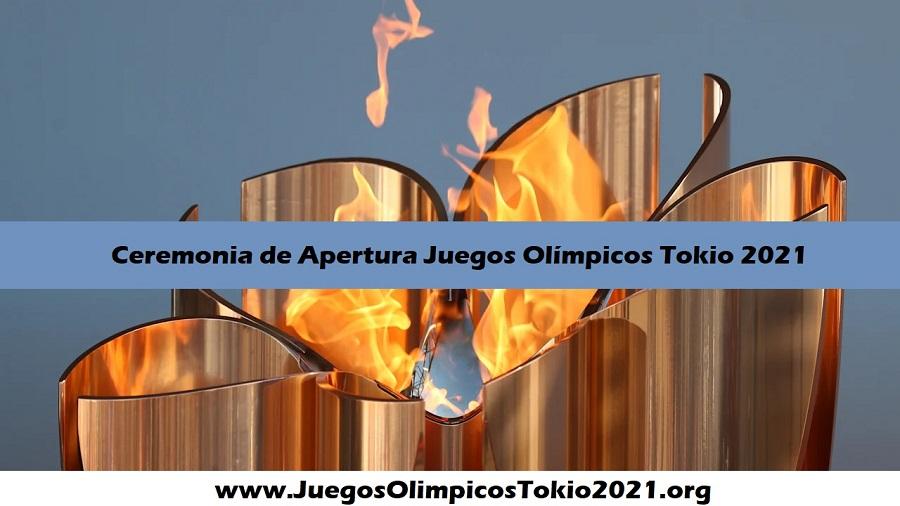 Ceremonia de apertura Juegos Olímpicos Tokio 2021