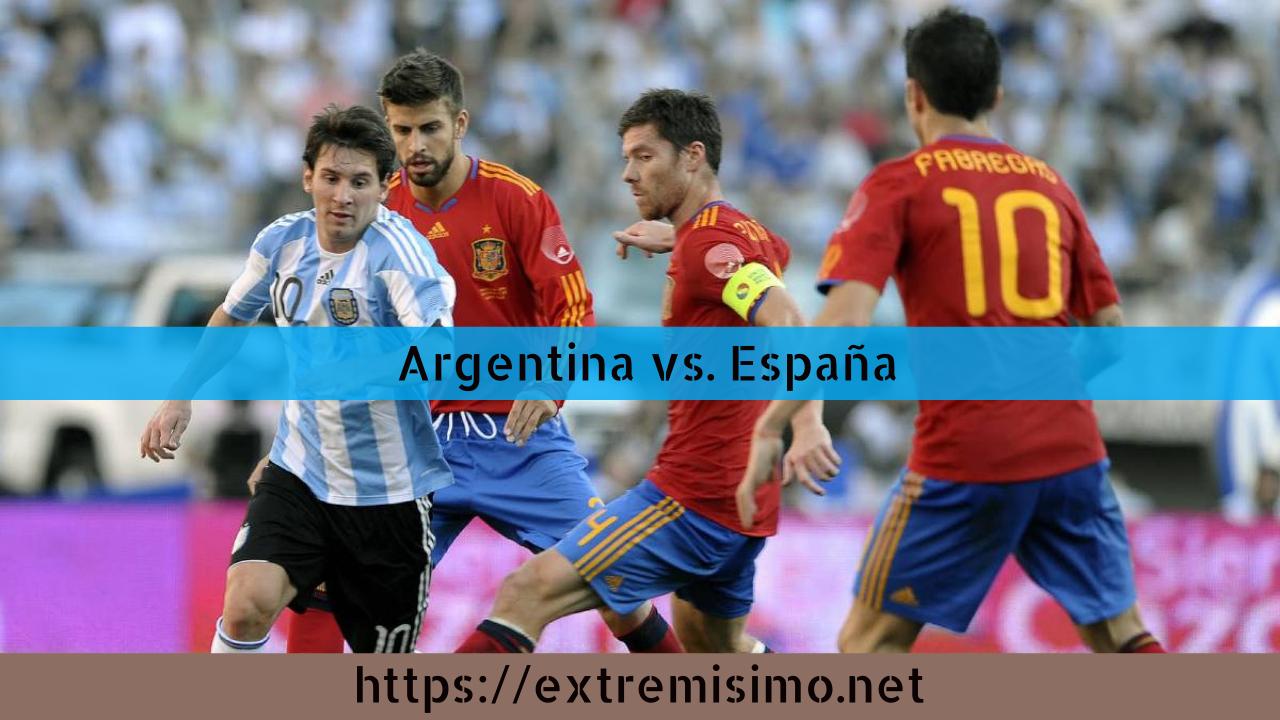 Cómo ver online el partido de fútbol de Argentina vs España Tokio 2021