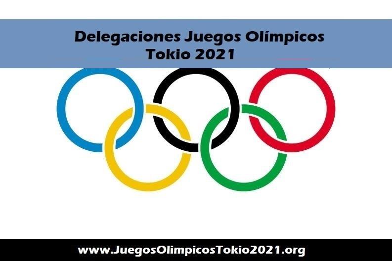 Delegaciones Juegos Olímpicos 2021
