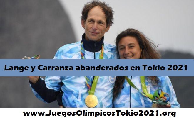 Lange y Carranza abanderados de Argentina Tokio 2021