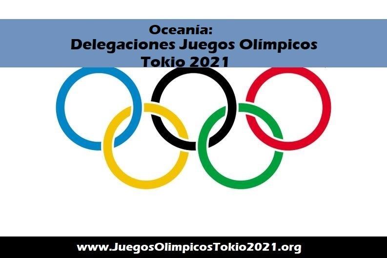 Oceania Juegos Olímpicos 2021