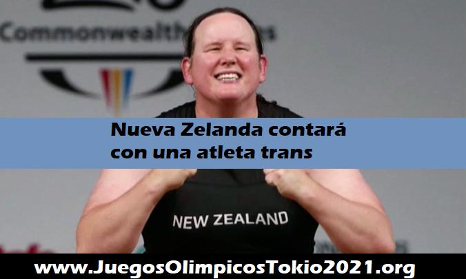 Primer atleta trans en los Juegos Olímpicos Tokio 2021
