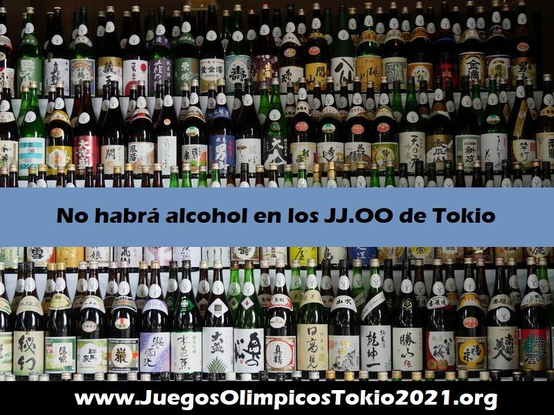 Prohíben el alcohol en Japón Juegos Olímpicos Tokio 2021