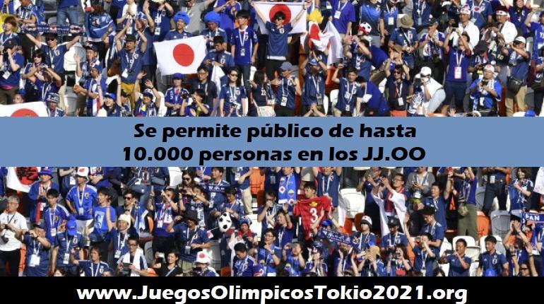 Público en los Juegos Olímpicos