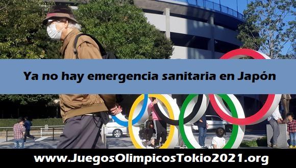 Se levanta la emergencia sanitaria en Japón