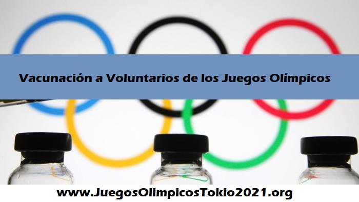 Vacunas Juegos Olímpicos 2021